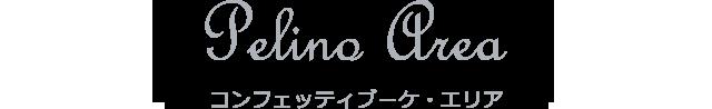 Pelino Area コンフェッティブーケ・エリア